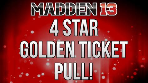 The Golden Ticket Andrew Gn Pulls Out The Showstoppers by Mut 13 4 Golden Ticket Pull Madden Ultimate Team