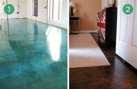 10 easy and inexpensive diy floor finishes kitchen