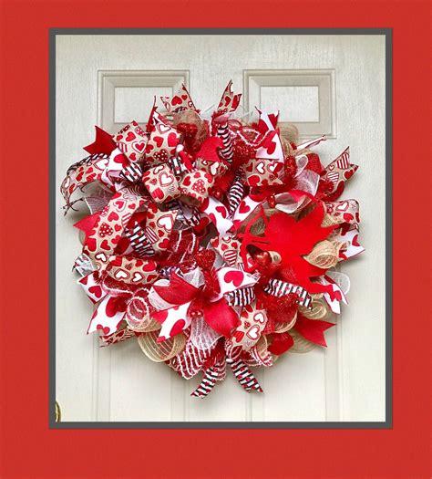 valentine wreath   stock wreath decor