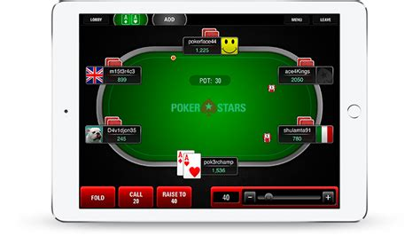 pokerstars mobile app mobile iphone android and apps