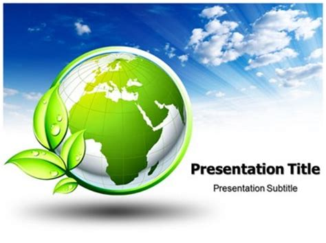 Ppt Templates Free Download Green Earth | best photos of earth powerpoint template powerpoint