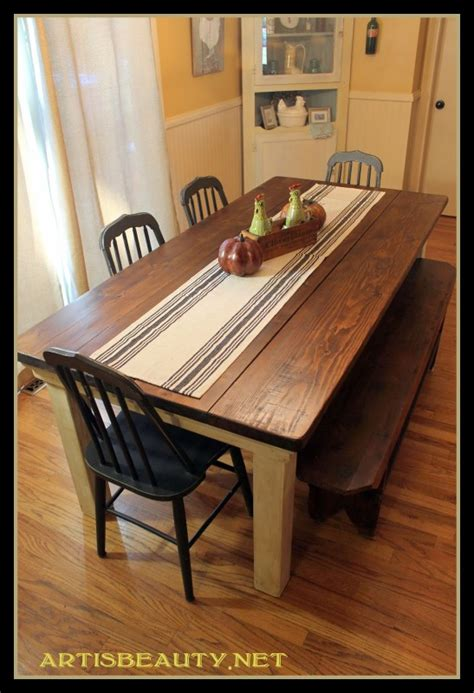 building a farmhouse remodelaholic build a farmhouse table for under 100