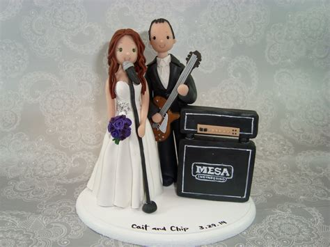 custom handmade groom theme wedding cake topper