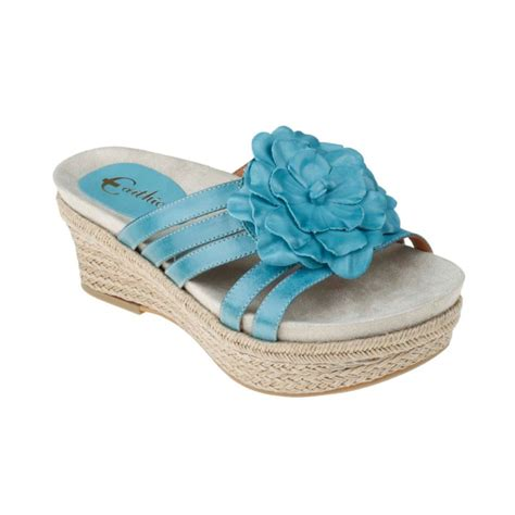 earthies sandals earthies 174 valencia espadrille sandals in blue teal calf