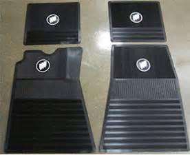 61 75 buick skylark gs wildcat electra 4 rubber floor mats