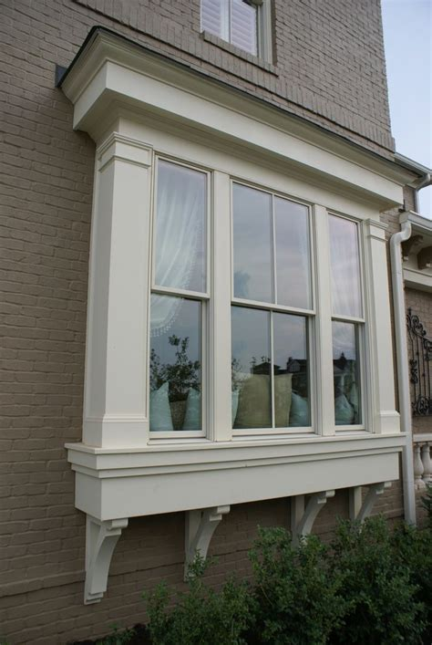 home windows outside design window bump out house exterior pinterest window bay