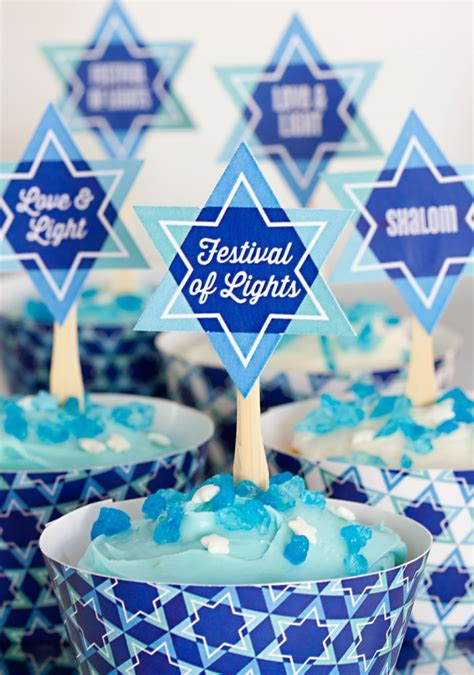 Celebrate Hanukkah with Free Printables!   Party Inspiration