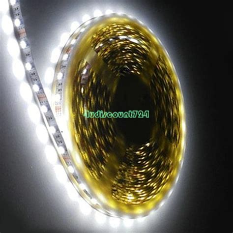 Led Roll waterproof 5050 5630 led lights 1m 5m roll 12v rgb