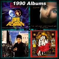 100 greatest albums of 1990