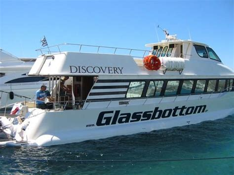 glass bottom boat cruise discovery glass bottom boat on mykonos island day cruises
