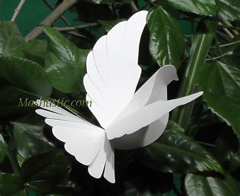 How To Fold A Paper Dove - 257 best images about templates paper folding on