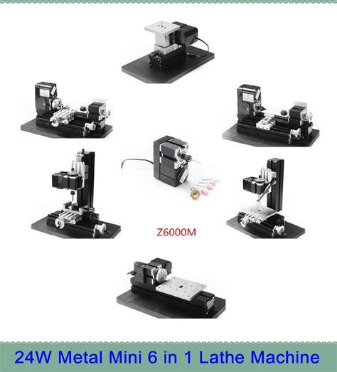 Mesin Bubut Mini Rakitan Diy 6 In 1 20 000rpm aliexpress beli logam bubut bubut mini serbaguna 6 in 1 mesin bubut z6000m mesin diy tool