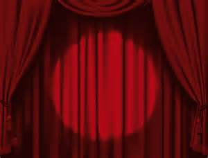 red stage curtain design vector graphic 05 vector other