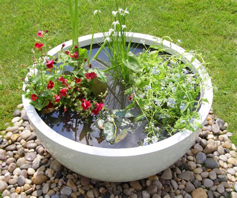 Pond Pots Planters by Setting Up Your Pond In A Pot Is Effortless And Can Be