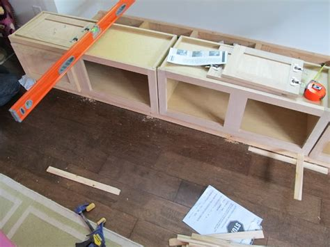 How To Build A Banquette Out Of Cabinets by Diy Breakfast Nook Seating Interior Design A Sneak