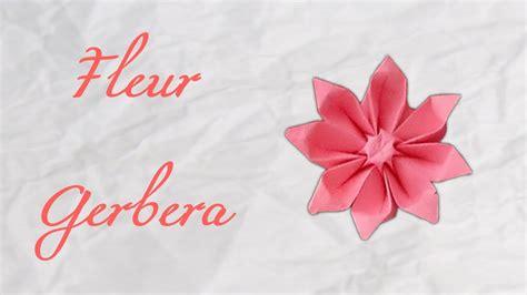 Origami Gerbera - origami fleur gerbera flower hd