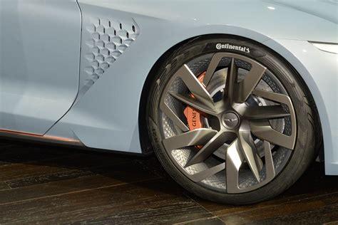 genesis  york concept  ny auto show  wheel
