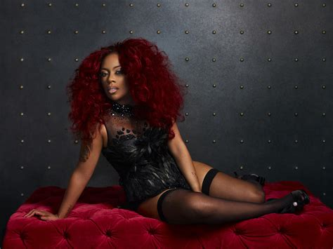 pic of k michelle cury hair k michelle previews new single love em all that