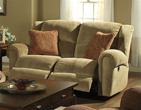 Havana Fabric Modern Grove Park Reclining Sofa Loveseat Set Fabric Reclining Sofas And Loveseats