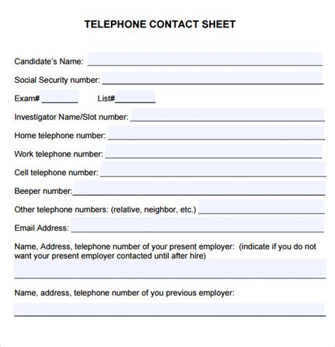sle contact sheet 5 documents in pdf