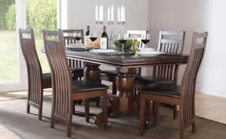 Dark wood dining table amp chairs dark wood dining sets furniture