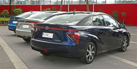 Toyota Courtesy Toyota Hydrogen Fuel Cell Vehicles Introduced To Australia