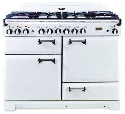 aga kitchen appliances aga dual fuel range with solid door vintage white