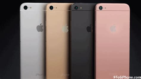 7 iphone colors top iphone 7 concept 9to5iphone iphone