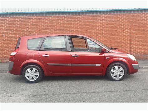 renault scenic 2005 7 seater 2005 05 renault grand scenic dynamique 7 seater oldbury