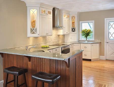 Standard Kitchen Countertop Overhang Cabinetry