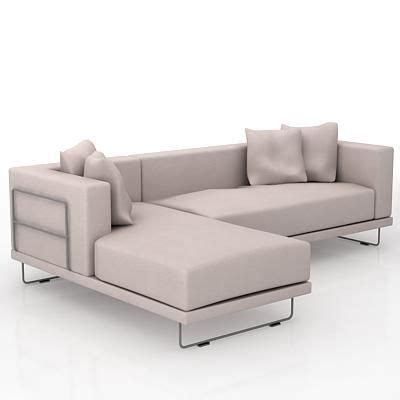 ikea tylosand sofa bed corner sofa with pillows 3d object ikea tylosand series 009