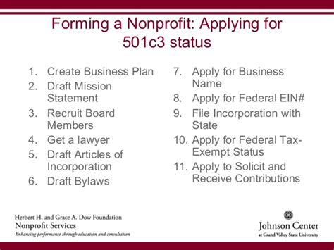 bylaws for a nonprofit organization template starting a nonprofit organization rev 8 31 12