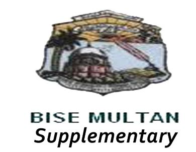 1 supplementary result bise multan board intermediate part 1 2 supplementary