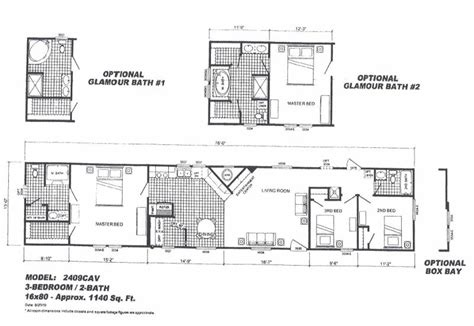 16x80 mobile home floor plans 16x80 mobile home floor plans pictures to pin on pinterest