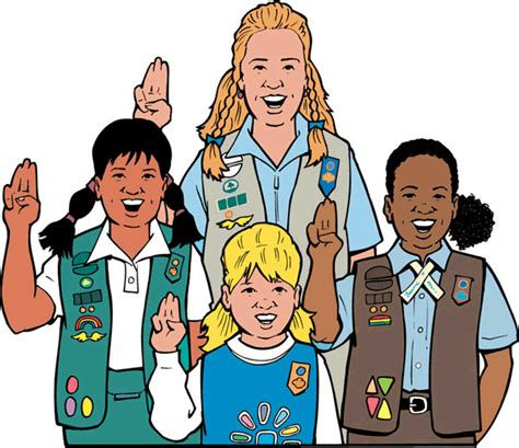 girls scouts of the usa girls scouts of northeast texas world girl scout logo clip art clipart best