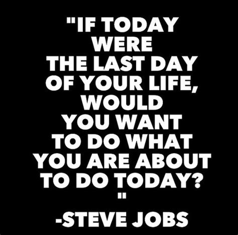 What Would You Do If Your Was At Home by If Today Were The Last Day Of Your Would You Want To