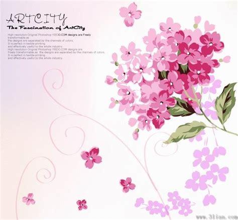 flower doodle ai 樱花矢量图 植物矢量图 三联