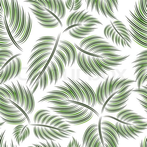 green wallpaper with leaf pattern seamless pattern with green leaf leaves on white