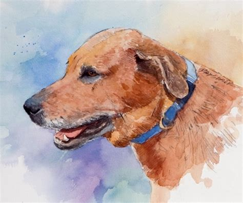 paintings of dogs watercolor paintings of dogs and woodies bill drysdale 1435521