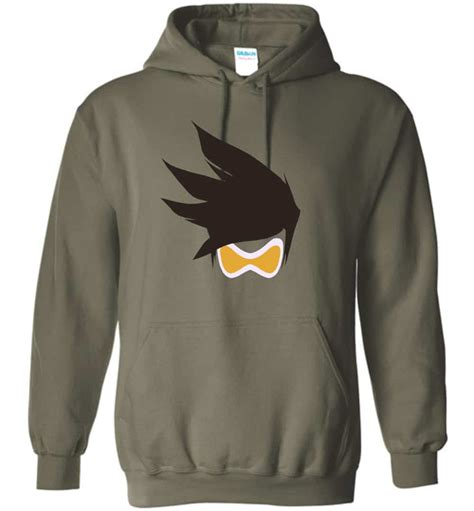 Hoodie Zipper Sweater Overwatch 2 tracer overwatch t shirt and hoodie the wholesale t shirts