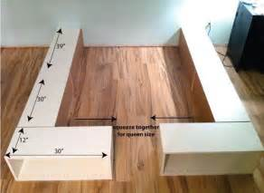 Bed hack ikea storage bed diy ikea bed frame diy bed frame beds