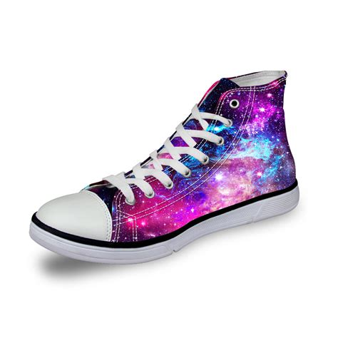 high shoes for galaxy high top canvas shoes fashion flat shoes lace