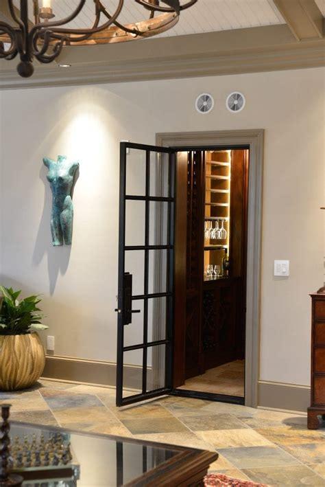 black steel glass doors  sandy springs estate french
