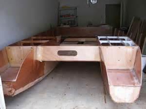Building Design Plans building a double shuffle catamaran