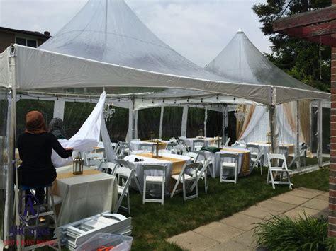 backyard wedding tent rentals allcargos tent event rentals inc backyard wedding
