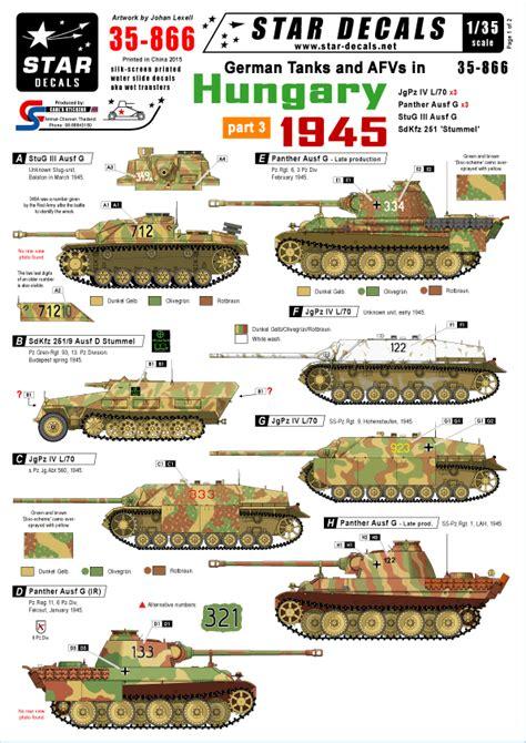 Tiger 135 Terminator 2 stardecals新作入荷しました afvプラモデル関連の新製品情報 入荷情報を毎日お伝えします