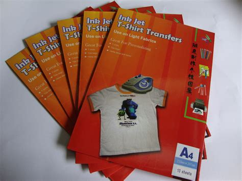 inkjet iron on transfer paper amazon a3 size 10 sheets tshirt iron on transfer papers inkjet