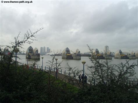 thames barrier from greenwich the thames path the thames barrier to greenwich