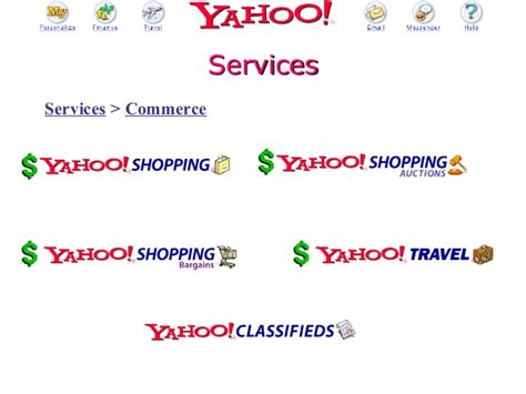 E Commerce Ppt For Mba by 2002 Mendoza Mba E Commerce Class Presentation On Yahoo