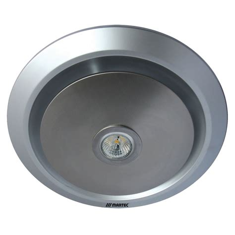 bathroom exhaust fan with led light white martec gyro bathroom exhaust fan with 5w led light